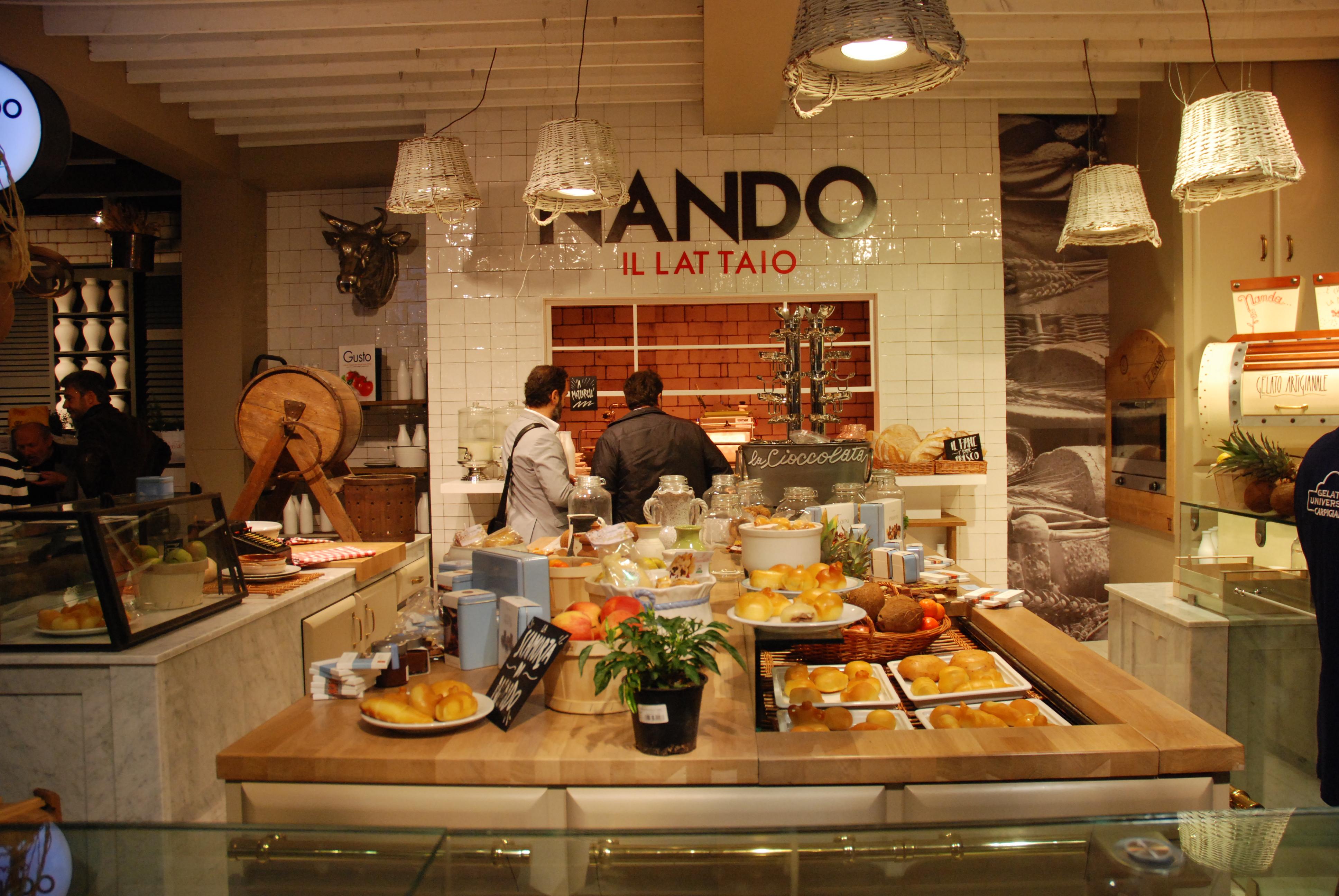 L 39 innovazione made in italy parte dai negozi gastronomici for Arredamento bio