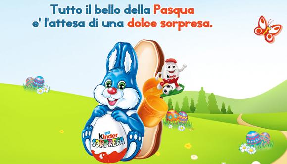 Kinder è Un Coniglio Di Cioccolato La Novità Di Pasqua 2014