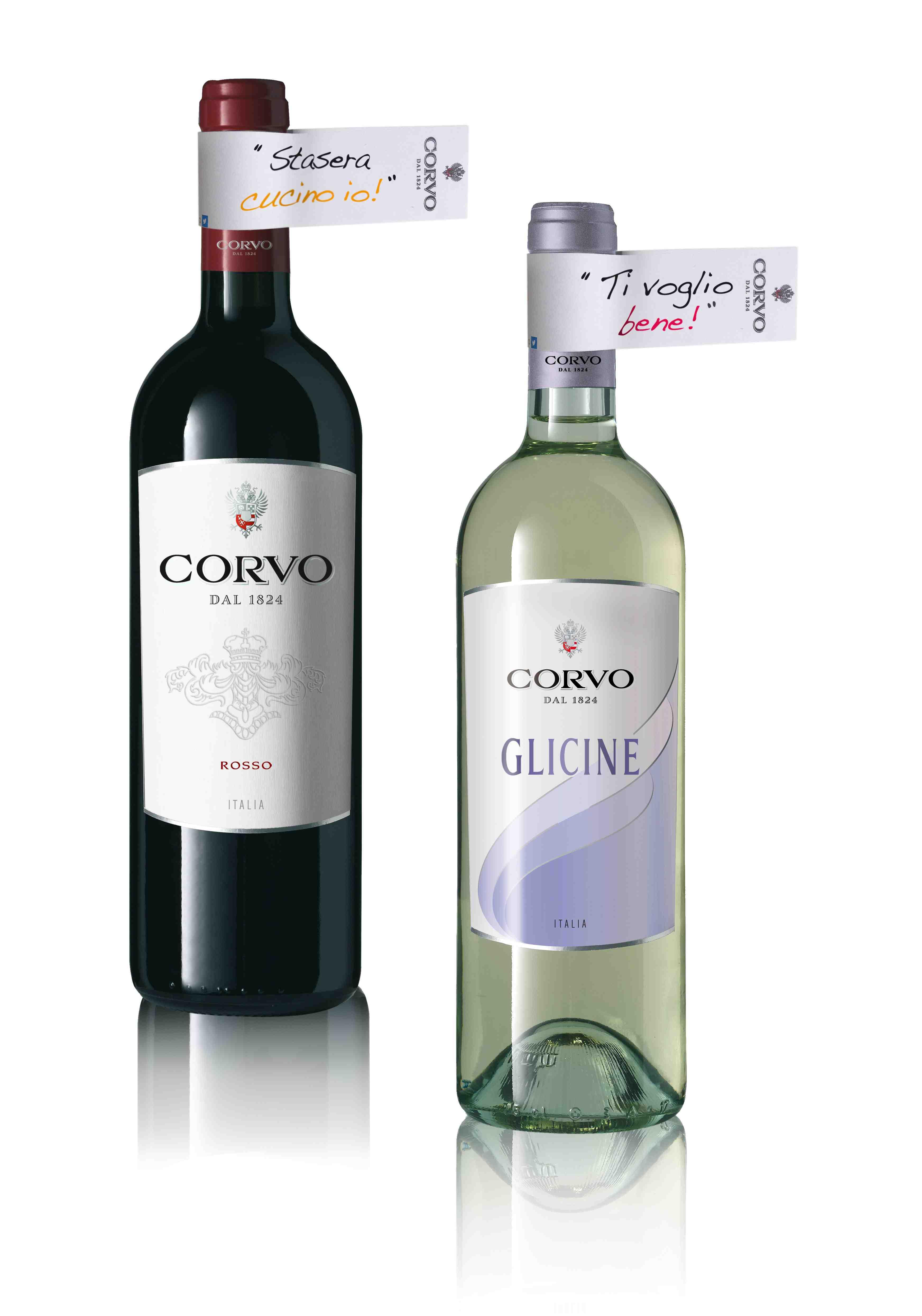 Corvo Personalizza La Bottiglia E Duca Enrico In Limited Edition