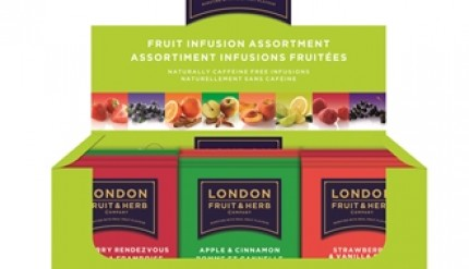 LONDON FRUIT & HERB Display Infusi Assortiti 80 filtri