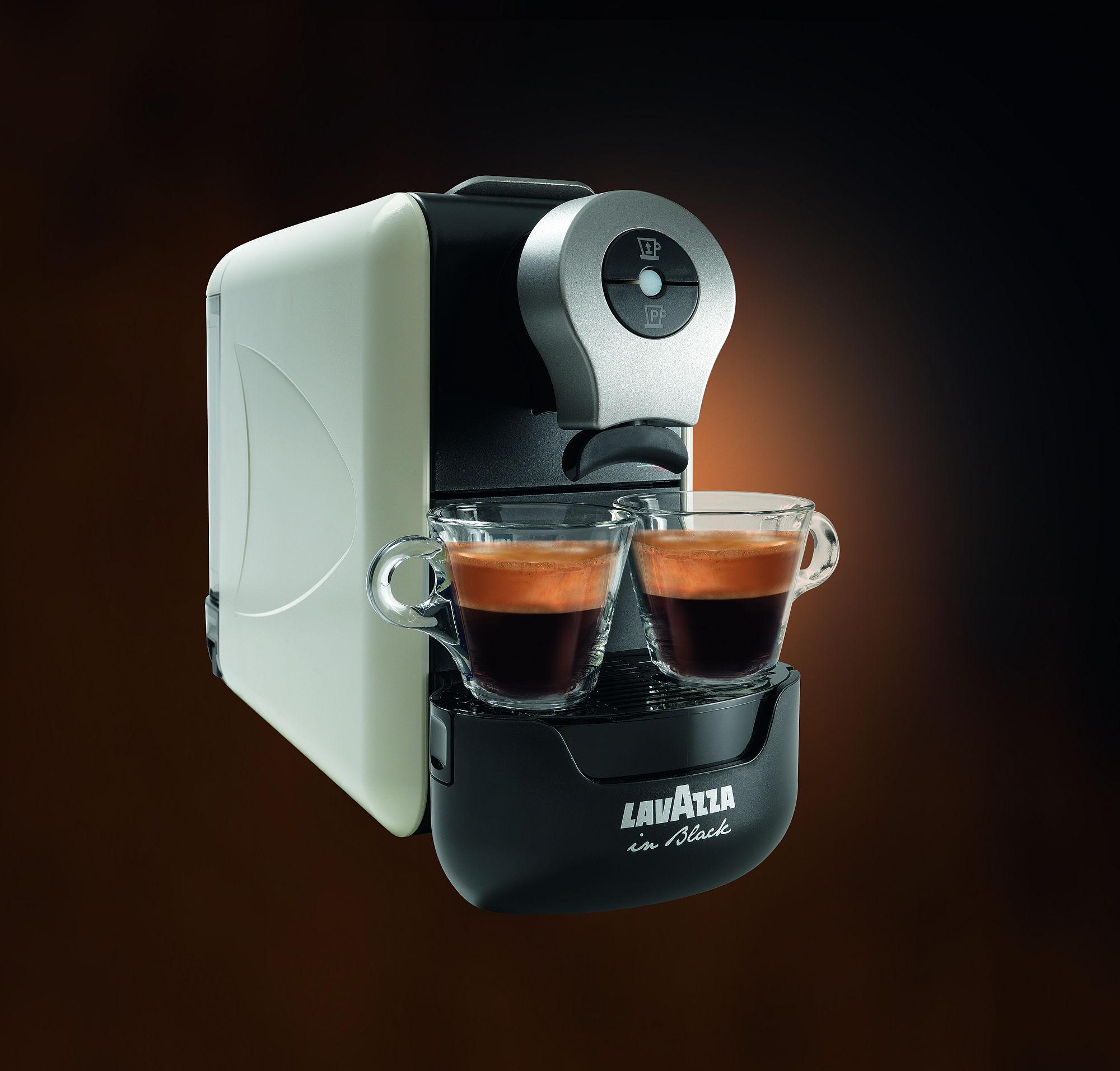 Macchina caffe 39 lavazza in black compact ebay - Macchina caffe lavazza in black ...
