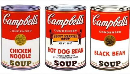 """Anche Andy Warhol è presente con le sue opere alla mostra """"Il cibo nell'Arte"""""""