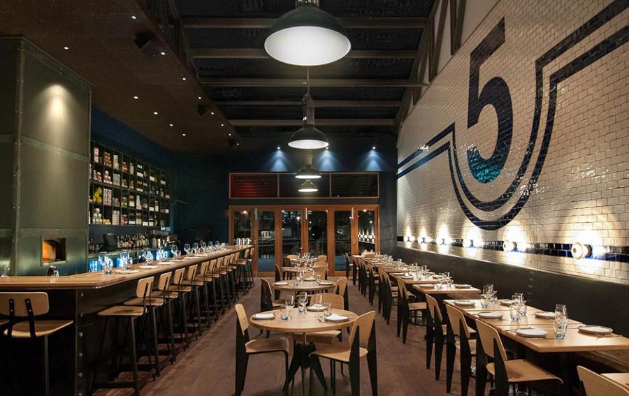 I ristoranti rivivono negli spazi industriali trasformati