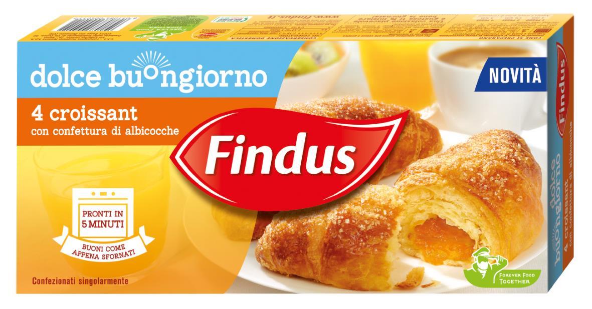 Findus debutta nel mondo della prima colazione con dolce for Buongiorno con colazione