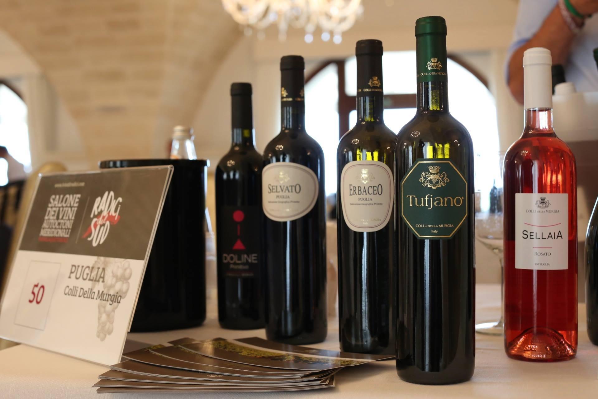 Radici del sud i grandi vini meridionali in scena a bari for Grandi arredi bari