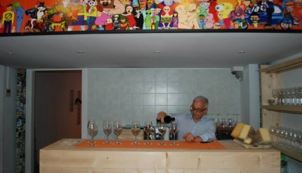 Nuvole in cantina 1
