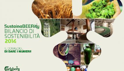 Carlsberg bilancio sostenibilità 2014
