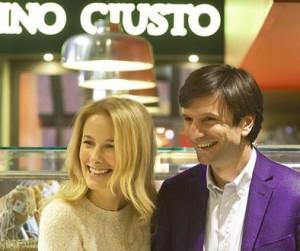 Antonio Civita, amministratore delegato di Panino Giusto, insieme allamoglie Elena Riva, socio di maggioranza