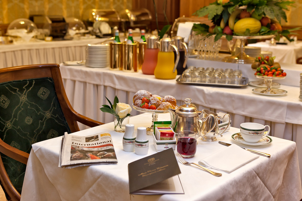 Grand Hotel Majestic, brunch