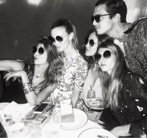 Party a base di sake alla Paris fashion week (Instagram)