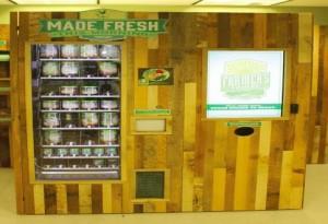 Distributori Farmer's Fridge in Australia distribuiscono solo cibo fresco in barattoli