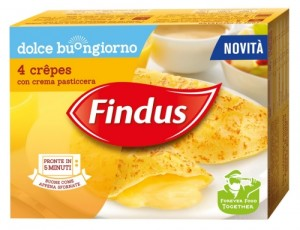 Findus_Dolce Buongiorno_Crepes con crema pasticcera