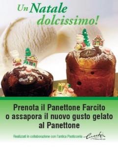 Panettone gelato