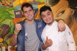 Francesco Zambon e Jeric Bautista