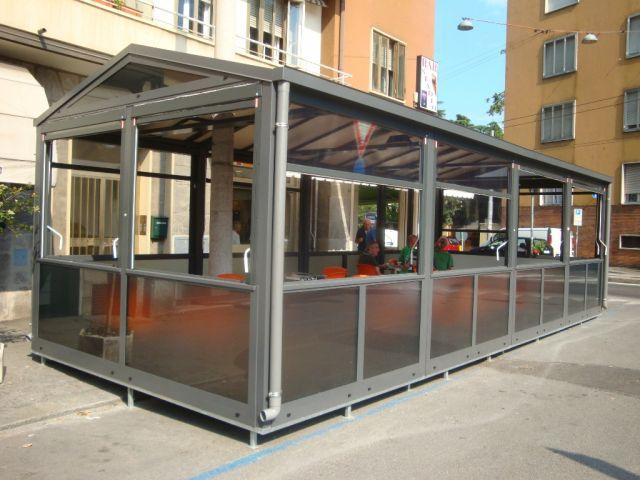 Bar e ristoranti il gazebo senza permesso reato for Arredi esterni per bar e ristoranti