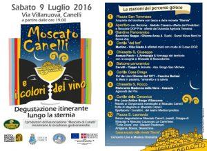 LOCANDINA FESTA MOSCATO CANELLI 9 LUGLIO 2016