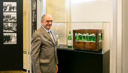 Enrico Zoppas-Presidente e AD Gruppo Acqua MInerale San Benedetto all'inaugurazione della Mostra di Milano al Museo