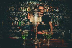I bartender Virginia Ducceschi e Mosè Giordani
