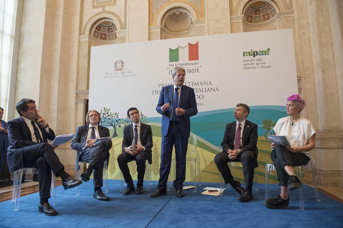La presentazione della prima settimana della cucina italiana nel mondo