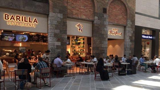 Barilla Restaurants Radio City New York Ny
