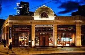 LA STARBUCKS RESERVE ROASTERY DI NEW YORK