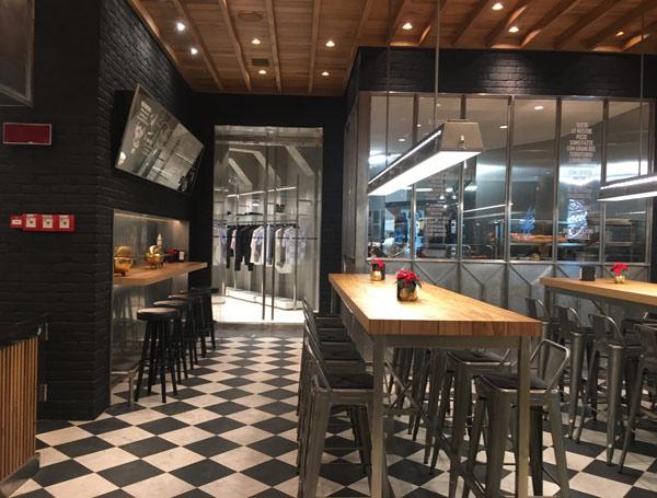 Diesel inaugura a milano il suo bistrot glorious caf for Arredamento bistrot