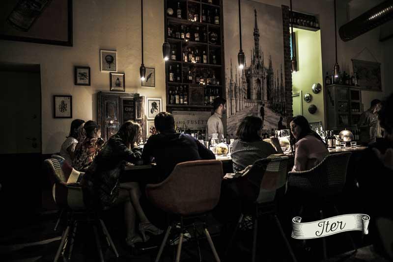 Iter dall 39 italia al mondo nel nuovo locale di angiolillo for Nuovo locale milano