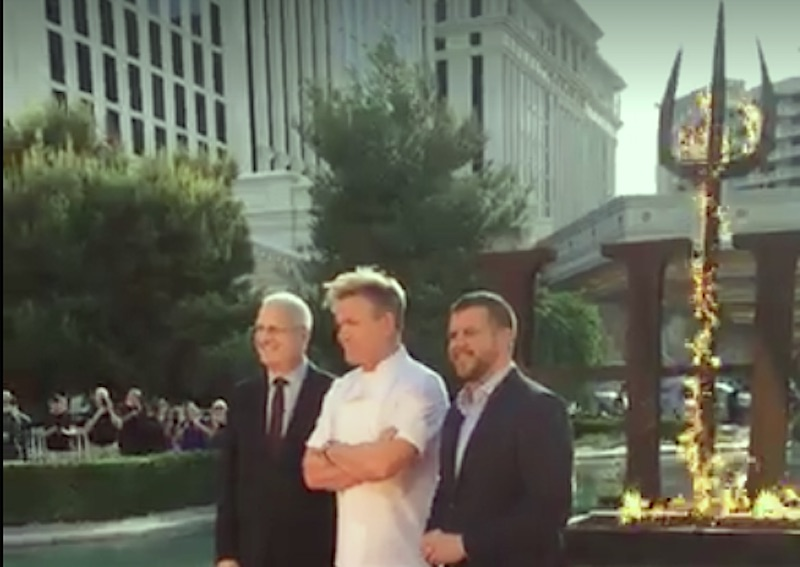 Gordon Ramsey a Las Vegas