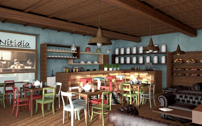Nitidia network l 39 alternativa a caffetteria e bar in for Arredamento fast food