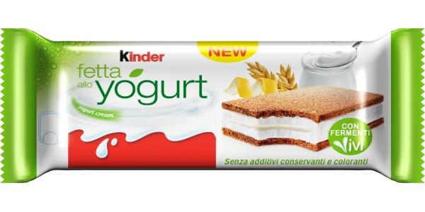 Una Novità Nel Banco Frigo Kinder Fetta Allo Yogurt Mixer
