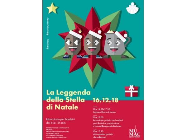 Storia Della Stella Di Natale.Apertura Speciale Del Mumac Per La Leggenda Della Stella Di Natale