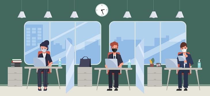 covid ambienti di lavoro